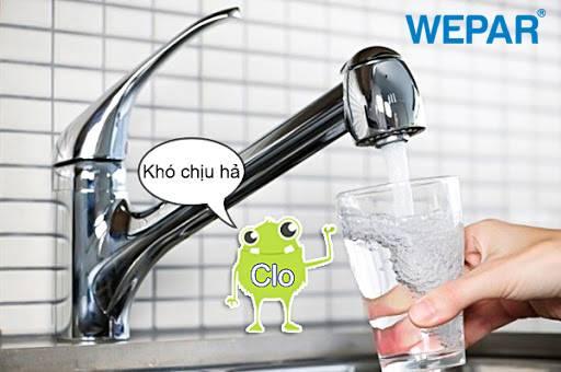 8 Cách khử Clo trong nước máy tại nhà đơn giản