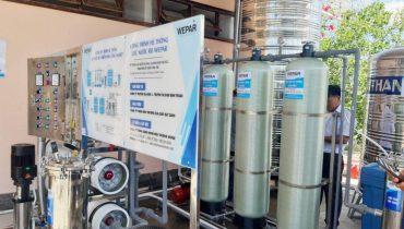 Lắp đặt hệ thống lọc nước giếng khoan công nghiệp công suất lớn 2021