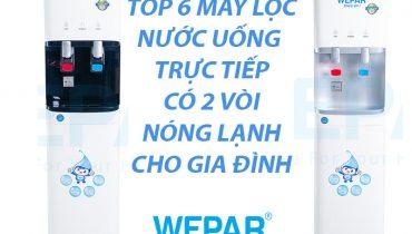 Top 6 Máy lọc nước uống trực tiếp có 2 vòi nóng lạnh cho gia đình