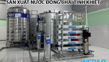 Quy trình công nghệ dây chuyền sản xuất nước đóng chai tinh khiết