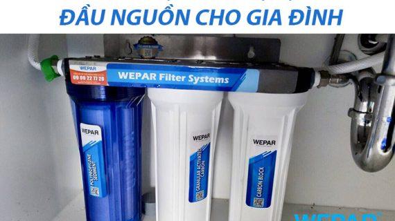 Tư vấn lắp bộ thiết bị lọc nước đầu nguồn cho gia đình