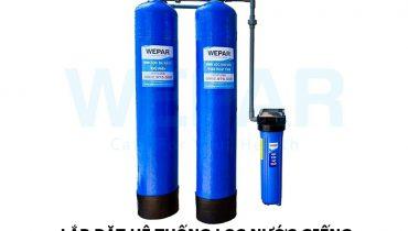 Lắp đặt hệ thống lọc nước giếng bị nhiễm phèn 99% là sạch