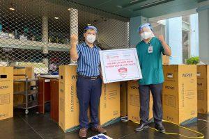Hình ảnh Wepar triển khai lắp đặt máy lọc nước tại bệnh viện Gò vấp
