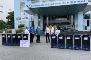 Wepar lắp đặt máy lọc nước WP8-st cho Bệnh viện Gò Vấp