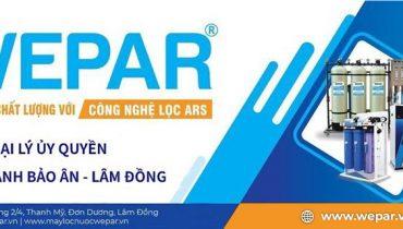 Đại lý bán máy lọc nước Wepar tại Lâm Đồng
